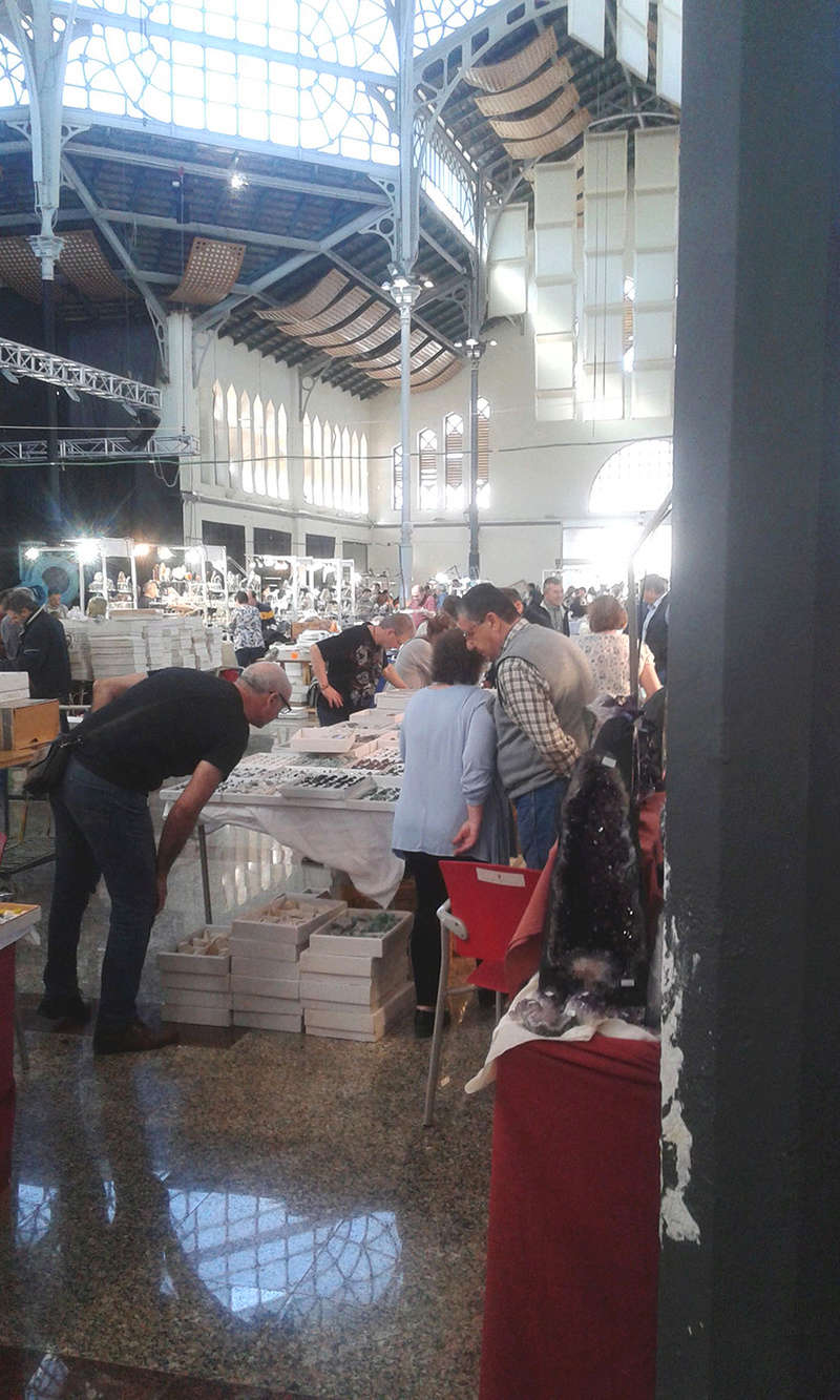XXI Feria de Minerales y Fósiles de La Unión  Jurado10