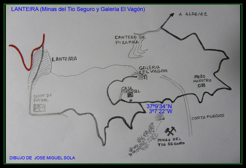 MINAS DEL TIO SEGURO Y GALERIA DEL VAGON,  LANTEIRA (Granada) Lan00110