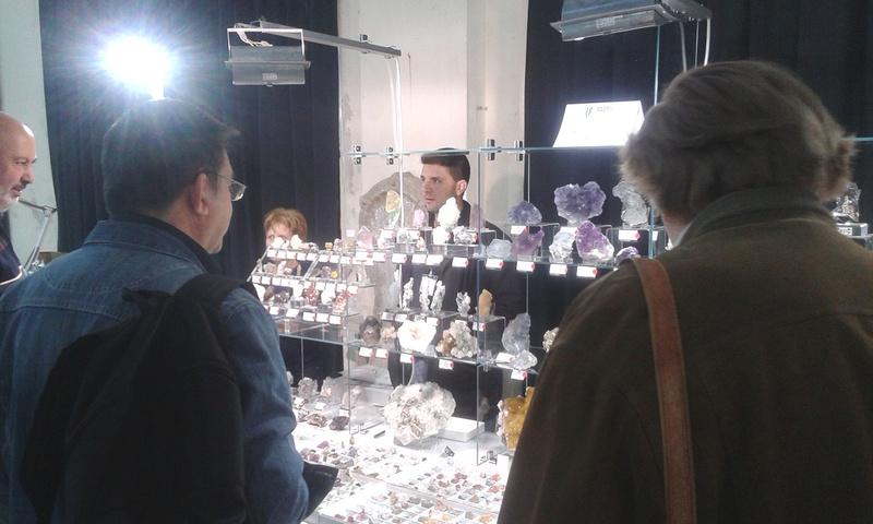 XXI Feria de Minerales y Fósiles de La Unión  Miguel10