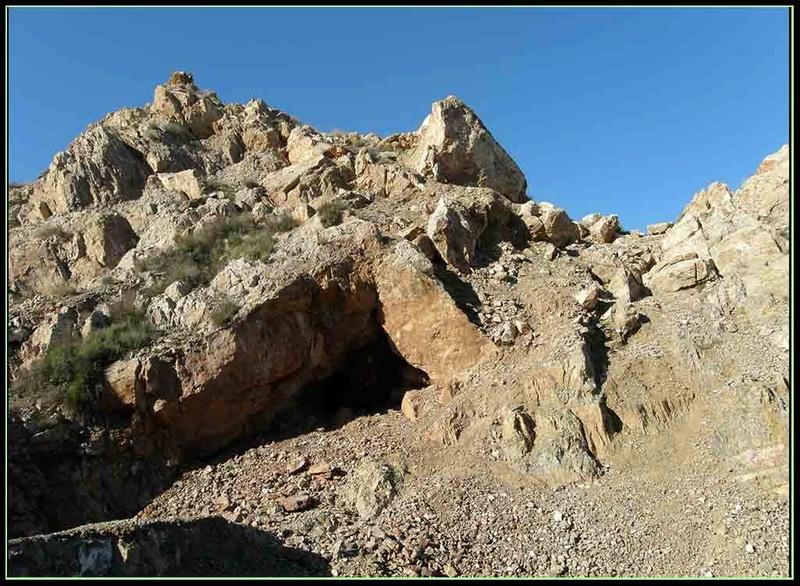 MINA DE CERRO MINADO (Mina La Cena del Depósito), CUESTA ALTA, HUERCAL OVERA (Almería) P1129410