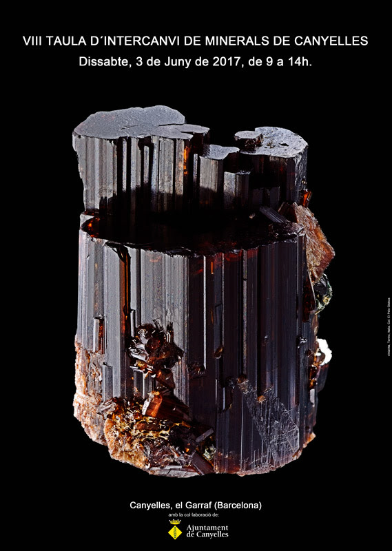 VIII Taula d´Intercanvi de Minerals de Canyelles Poster10