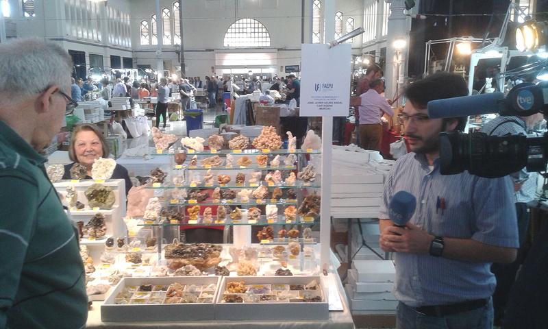 XXI Feria de Minerales y Fósiles de La Unión  Saura_10