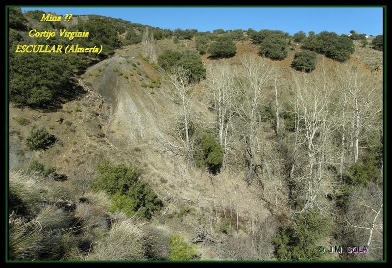 MINAS DEL GENERAL, CORTIJO VIRGINIA, ESCULLAR (Almería) Virc110