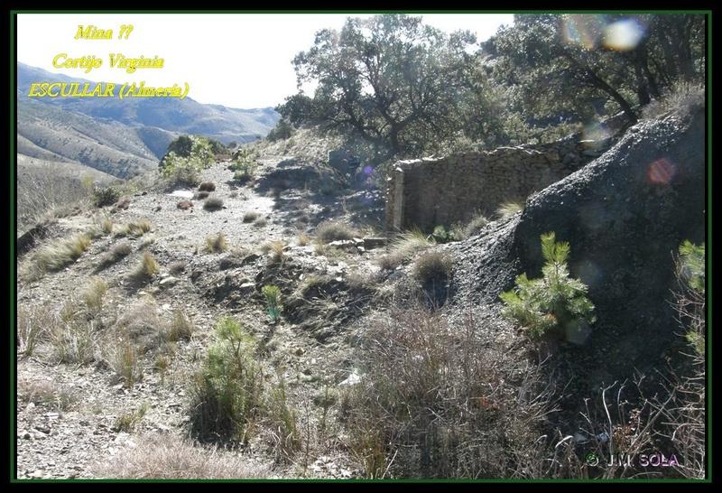 MINAS DEL GENERAL, CORTIJO VIRGINIA, ESCULLAR (Almería) Virc210