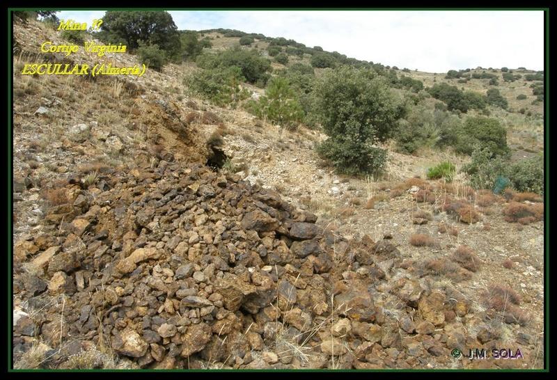 MINAS DEL GENERAL, CORTIJO VIRGINIA, ESCULLAR (Almería) Virc710