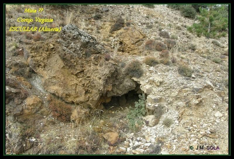 MINAS DEL GENERAL, CORTIJO VIRGINIA, ESCULLAR (Almería) Virc810