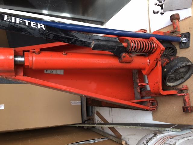 Remise en état d'un transpalette ciseau manuel Image110