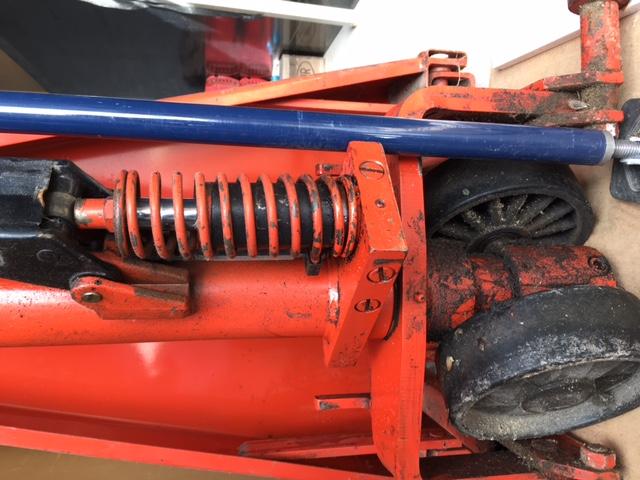 Remise en état d'un transpalette ciseau manuel Image310
