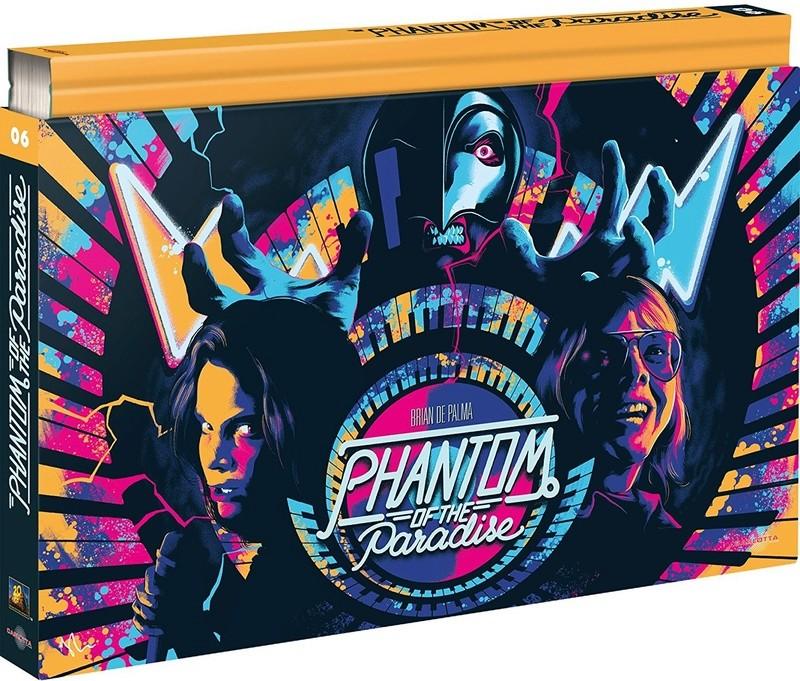 Phantom of the Paradise [Édition Coffret Ultra Collector - Bluray + DVD + Livre] Phanto10
