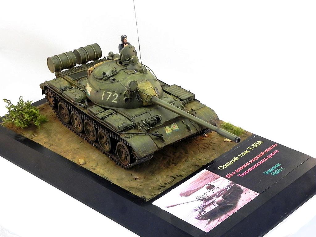 Т-55А. 1/35 Tamia 20010