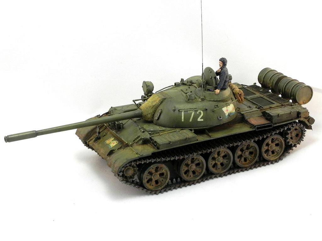 Т-55А. 1/35 Tamia 20410