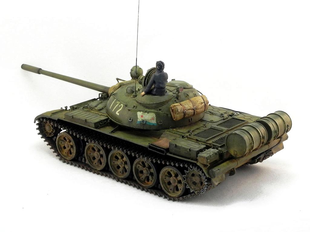 Т-55А. 1/35 Tamia 20510
