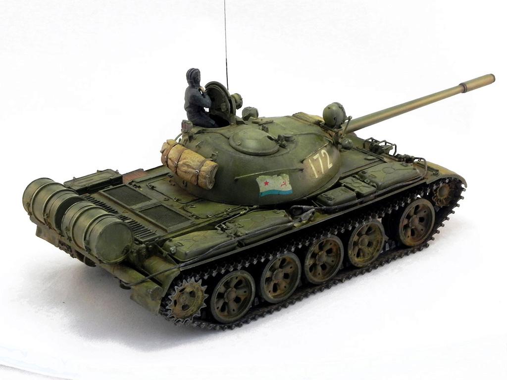 Т-55А. 1/35 Tamia 20710