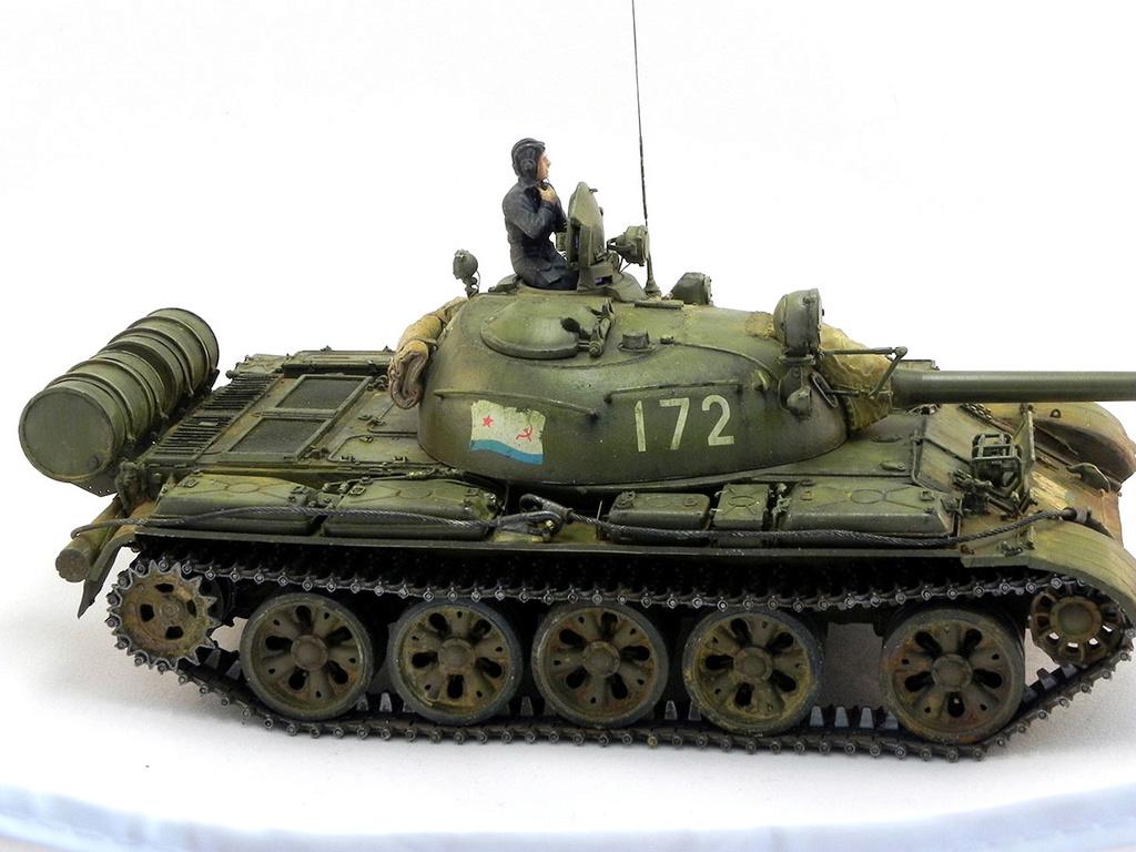 Т-55А. 1/35 Tamia 20810