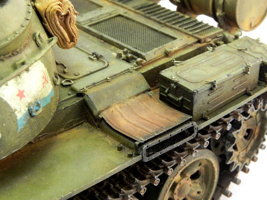 Т-55А. 1/35 Tamia 21410