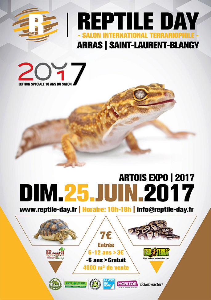 Reptile day 25 juin 2017 Affich11