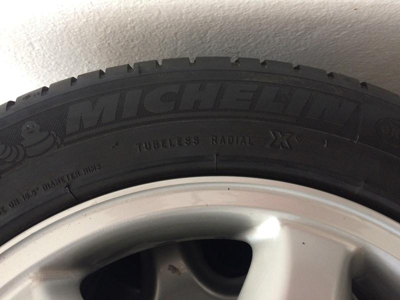 """(VENDIDO): Jogo de rodas e pneus 16"""" Ronal - W202/C208 - R$1.900,00 Img_5314"""