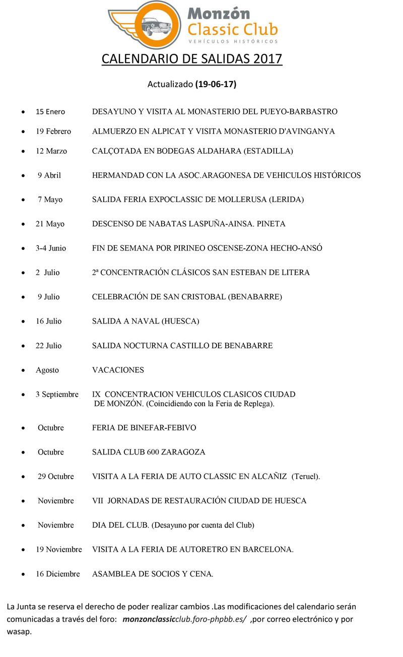 CALENDARIO DE SALIDAS 2017 actualizado JUNIO Calend10