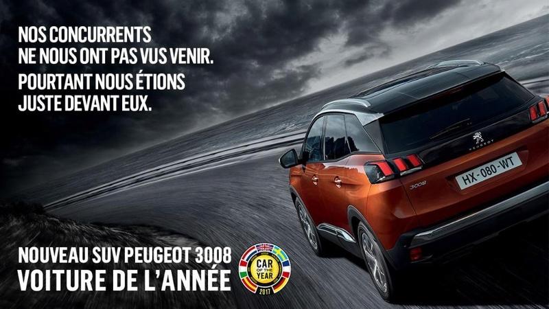 Peugeot 3008: ¡ganador del Coche del Año en Europa 2017! 39043410