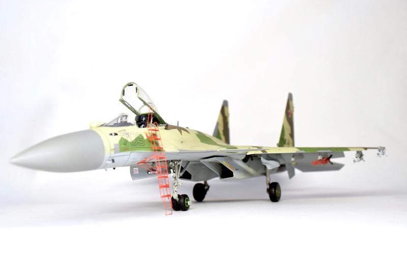 Су-35, 1:72 Звезда Dsc_2827