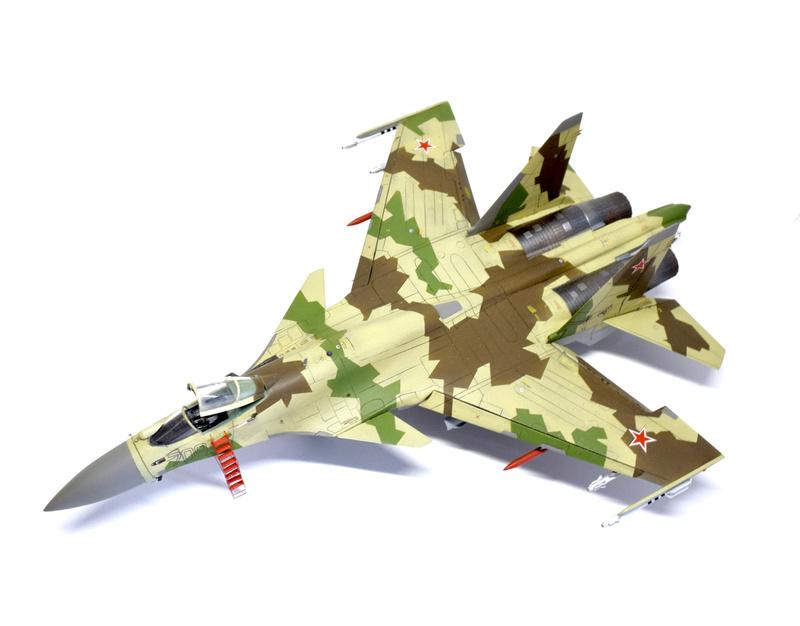 Су-35, 1:72 Звезда Dsc_2828