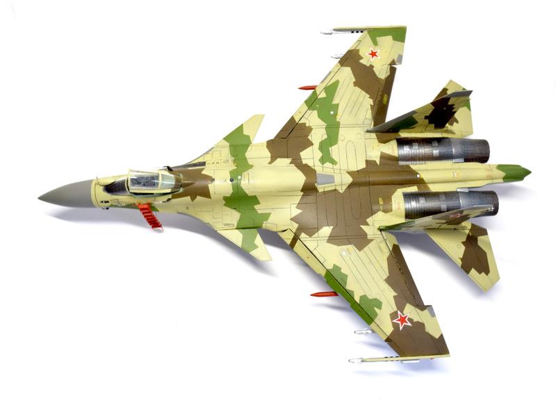 Су-35, 1:72 Звезда Dsc_2829