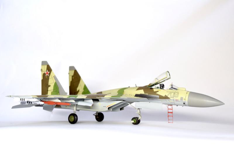 Су-35, 1:72 Звезда Dsc_2831