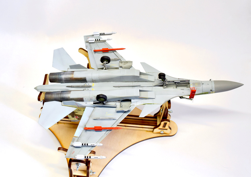 Су-35, 1:72 Звезда Dsc_2832