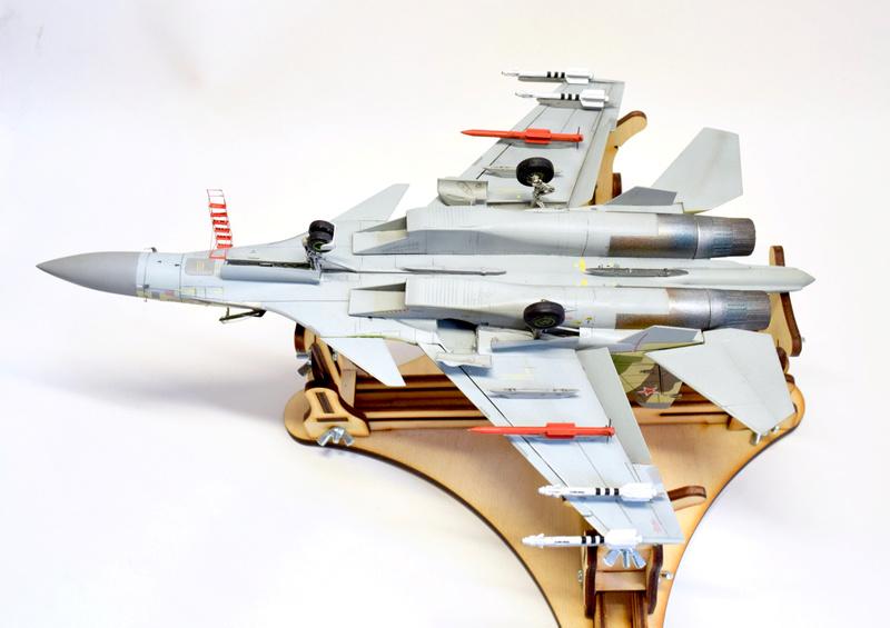 Су-35, 1:72 Звезда Dsc_2833