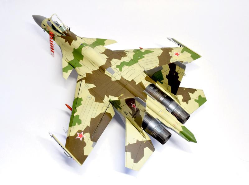 Су-35, 1:72 Звезда Dsc_2834