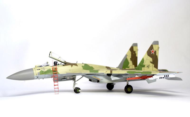 Су-35, 1:72 Звезда Dsc_2835