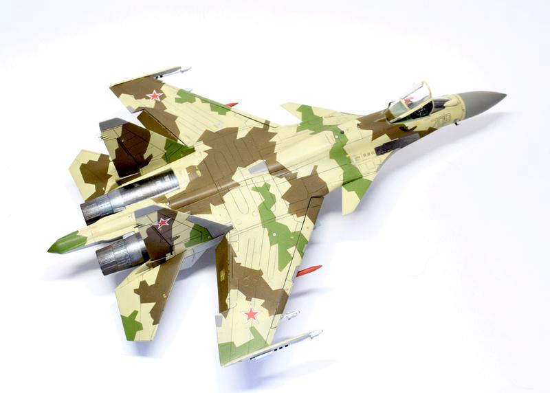 Су-35, 1:72 Звезда Dsc_2837