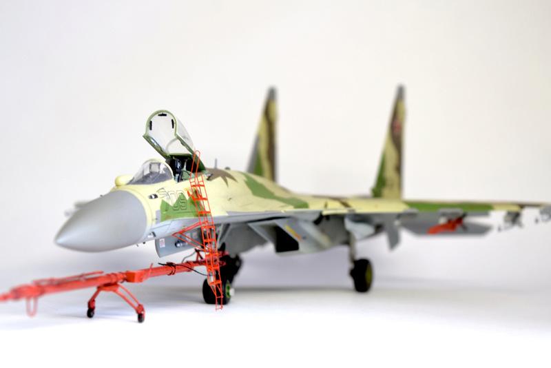 Су-35, 1:72 Звезда Dsc_2838