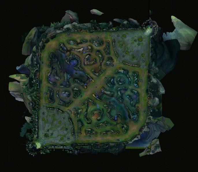 Summoner's Rift Map - Convertido para WC3 -Dave91 Map10