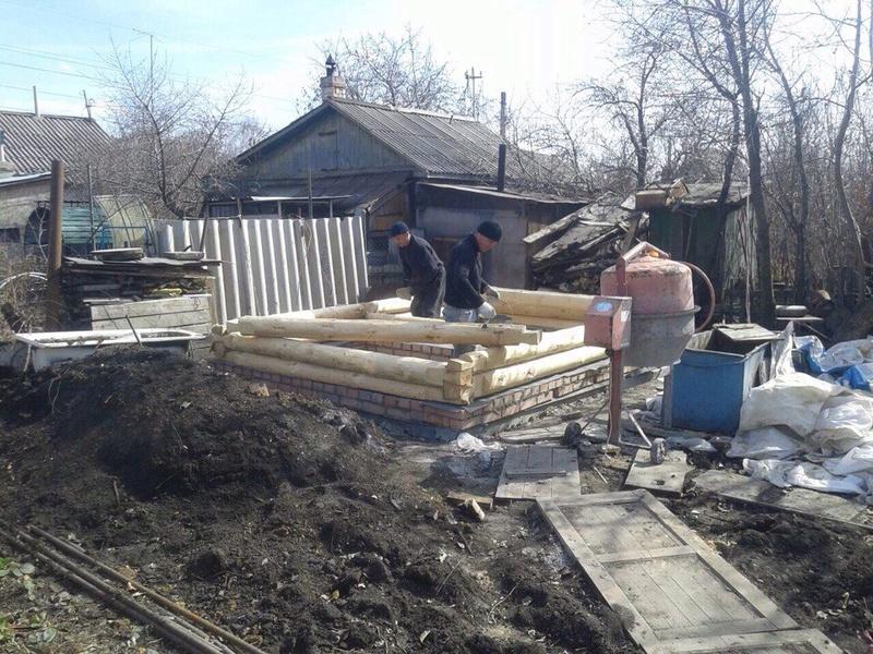 Строим баню. 611