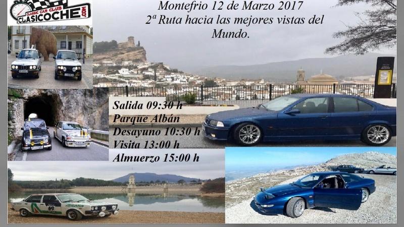 12/03/2017 XXXIV RUTA OFICIAL CLASICOCHE: MONTEFRIO. Cartel10