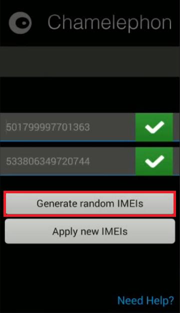 Reparar y/o cambiar F4 en EQUIPOS MTK con (Apk Chamelephon) 311