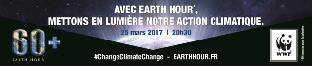 Earth Hour (60 minutes pour la planète) aura lieu samedi 25 mars 2017 Earth_10