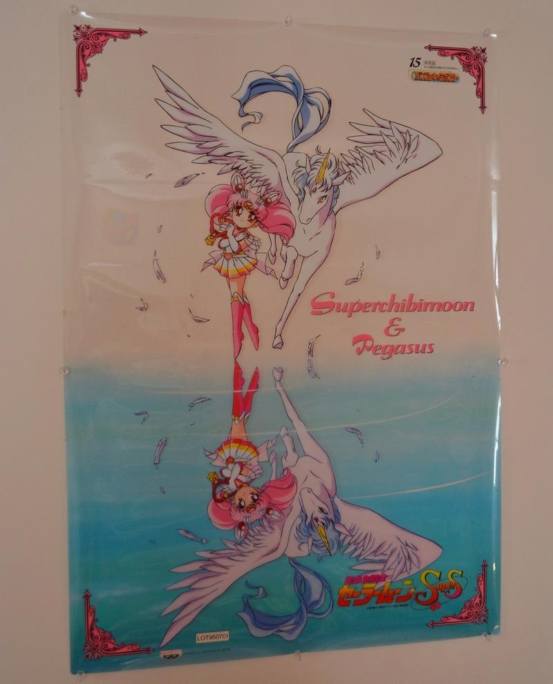 RARE Banpresto Transparent Chibimoon & Pegasus Poster Dsc_0610