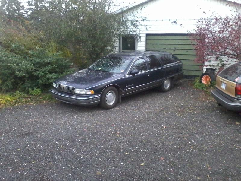 finally getting to my wagon Photo011