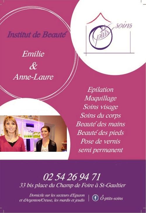 SAINT-GAULTIER - Ô-ptits soins - Institut de beauté - Soinss visage et corps - Epilation Flyer_11
