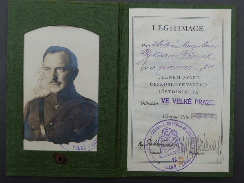 brevet tchécoslovaque années 1920 P1140615