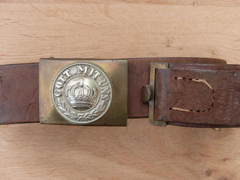 ceinturon allemand 1914 P1140710