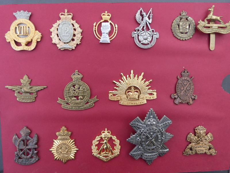 collections d'insignes du Commonwealth P1140823