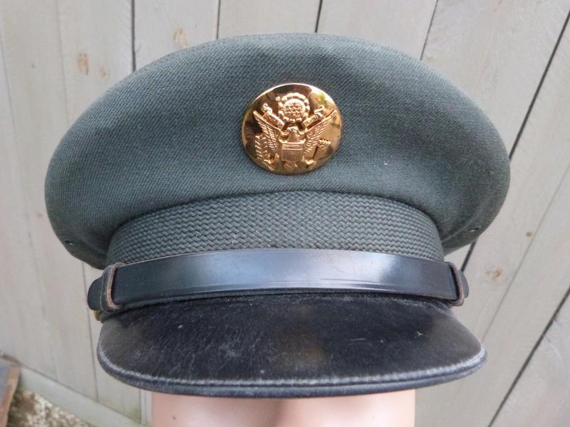 casquette US Army années 1960-1970 P1150410