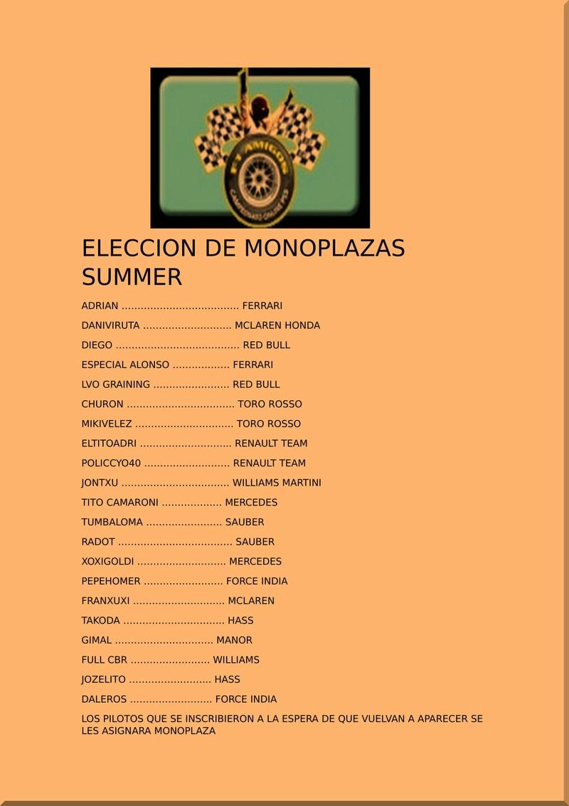 ELECCION DE ESCUDERIAS SUMMER Elecci10