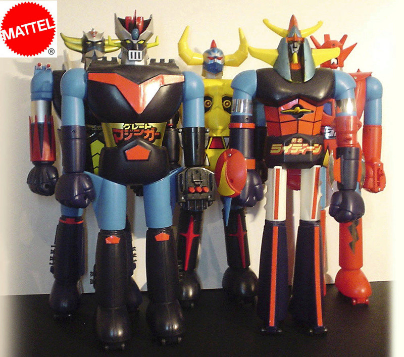 cerco shogun warrior robot jumbo Mattel Sw1910