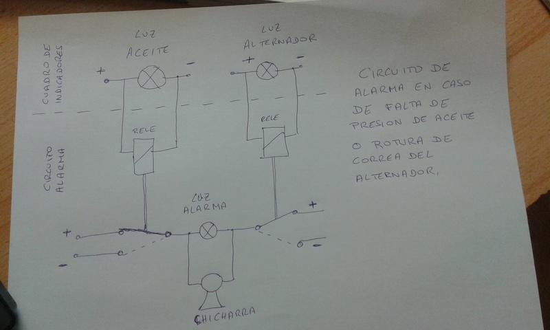 bricolage:alarma de averia, aceite y correa Alarma11