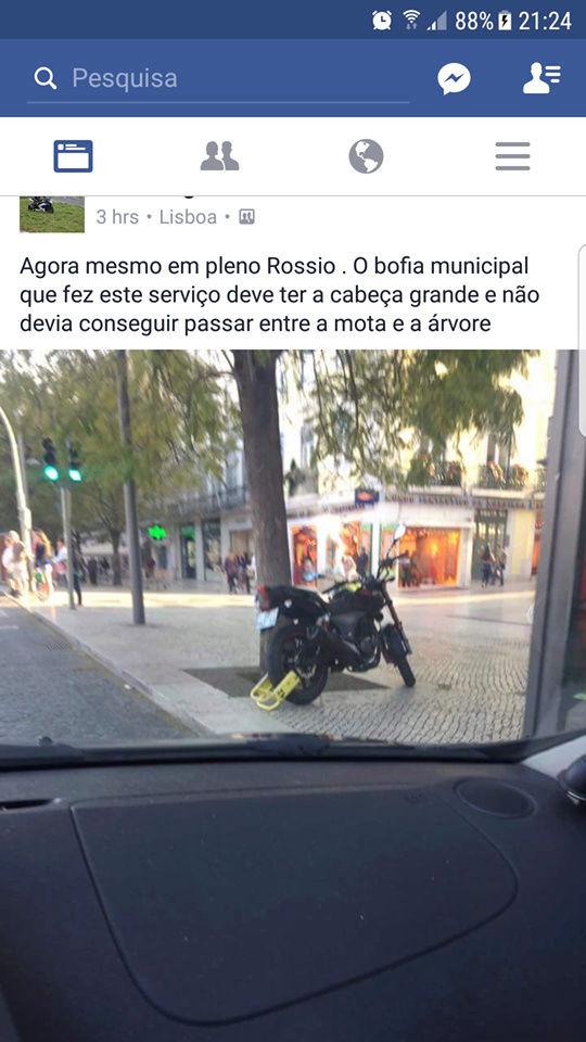 Parques para Motociclos na cidade de Lisboa. Bloque10