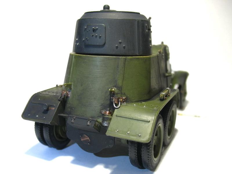 БА-10А от Звезды 1/35 1716